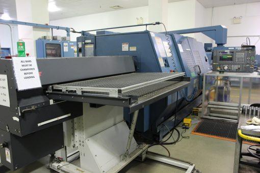 CNC Machine at Philadelphia Mint to Cut Die Blanks