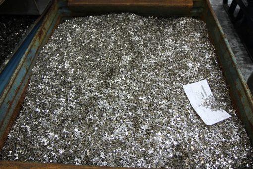 Coil Webbing at Philadelphia Mint