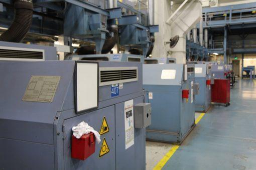 Coining Presses at Philadelphia Mint