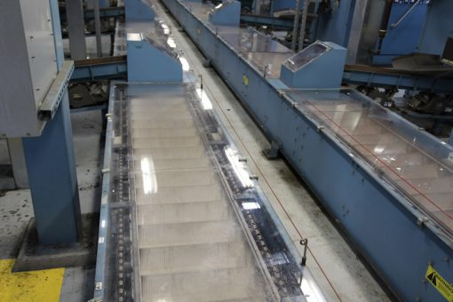 Conveyors Moving Coins on Floor of Philadelphia Mint