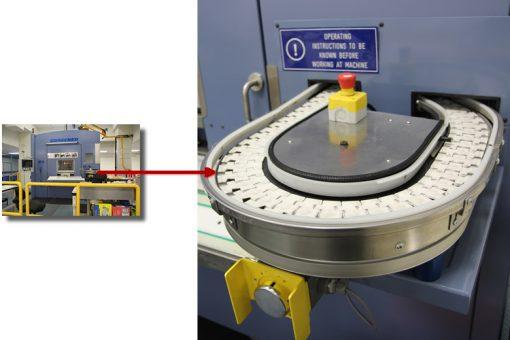 External Conveyor on Grabener Coin Press