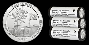 Fort McHenry Silver Coin and Quarter Products