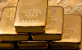 Gold Bars and Gold Eagles