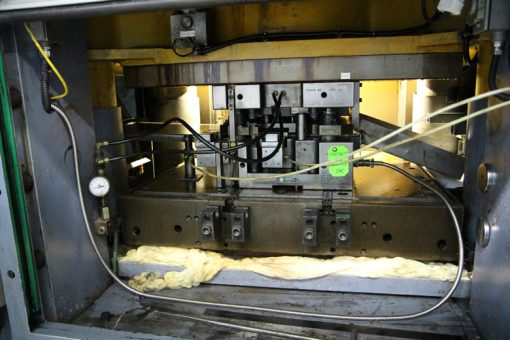 Inside View of Blanking Press at Philadelphia Mint
