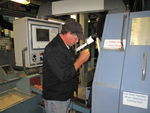 Metal Forming Machine Operator at Philadelphia Mint