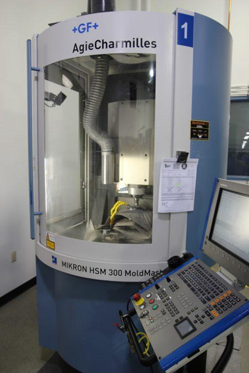 Mikron CNC milling machine