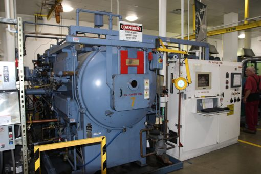 Oil-quench, Vacuum Hardening Furnace at Philadelphia Mint