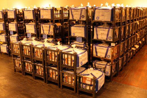 Racks of Bulk Cent Bags