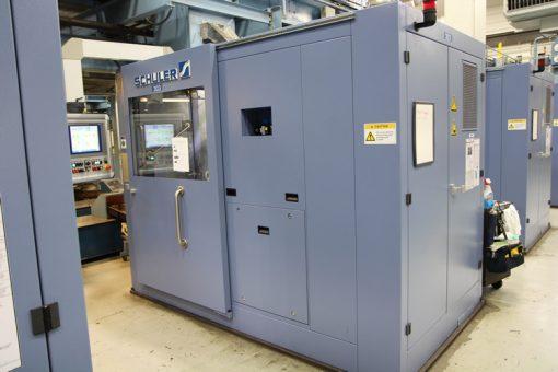 Schuler MRH 150 Coining Presses at Philadelphia Mint