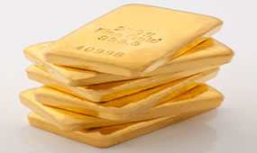 Six Gold Bars