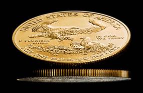 Two Gold Eagle Bullion Coins