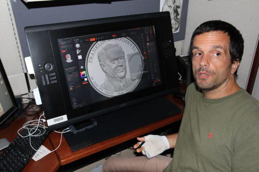 US Mint artist Joe Menna