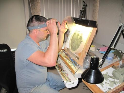 US Mint artist Michael Gaudioso
