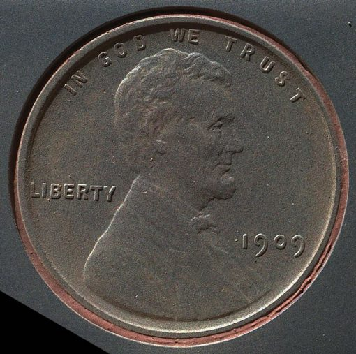 1909 VDB Lincoln Cent on NASA's Mars Rover Curiosity on Sept 9, 2012