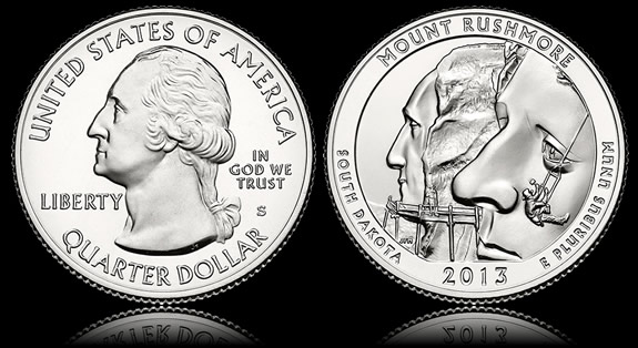 Location Changed For Mount Rushmore Quarter Ceremony