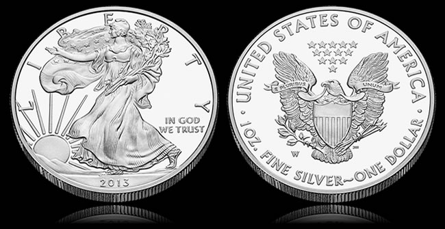2013 Proof Silver Eagle