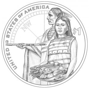 2014 Native American Dollar Design