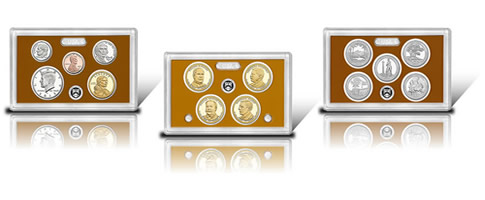 Coins in 2013 Proof Set