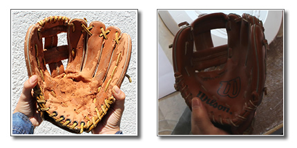 Gloves Used to Help in Designing National Baseball Hall of Fame Commemorative Coins