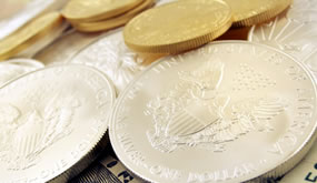 Gold Eagle and Silver Eagle bullion coins