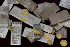 Gold and Silver Bullion - Bars and Coins