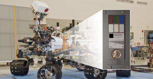 NASA's Mars Rover Curiosity and its Calibration Target Area