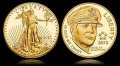 Proof American Gold Eagle and Proof 5-Star Commemorative Gold Coin