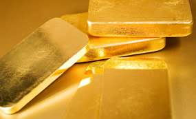 Slim gold bars