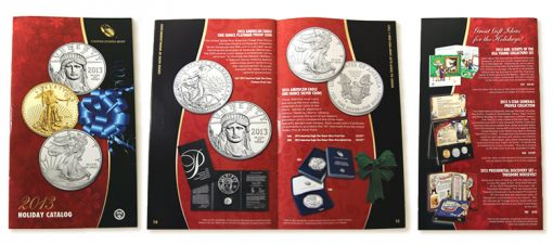United States Mint 2013 Holiday Catalog