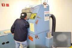 Zero Blast-N-Peen Machine for Sandblasting Proof Dies