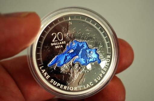 2014 Canadian Lake Superior Silver Coin
