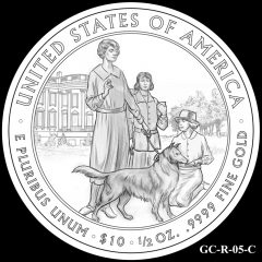 2014 First Spouse Gold Coin Design Candidate GC-R-05-C