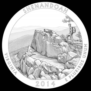 2014 Shenandoah National Park Quarter and Coin Design