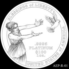 AEP-R-01 2014 American Platinum Eagle Design Candidate
