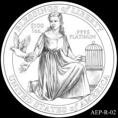 AEP-R-02 2014 American Platinum Eagle Design Candidate