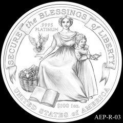 AEP-R-03 2014 American Platinum Eagle Design Candidate