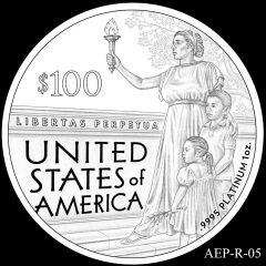 AEP-R-05 2014 American Platinum Eagle Design Candidate
