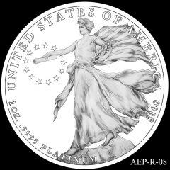 AEP-R-08 2014 American Platinum Eagle Design Candidate
