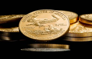 Bullion American Eagle gold coins