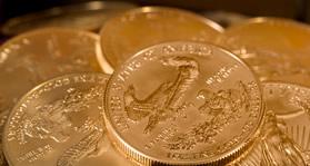 Chest of Gold Eagle Bullion Coins