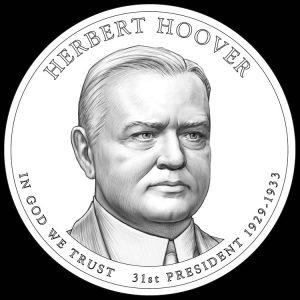 Herbert Hoover Presidential $1 Coin Design