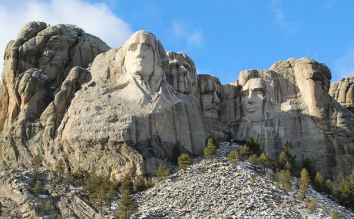 Mount Rushmore National Memorial on Nov. 6, 2013