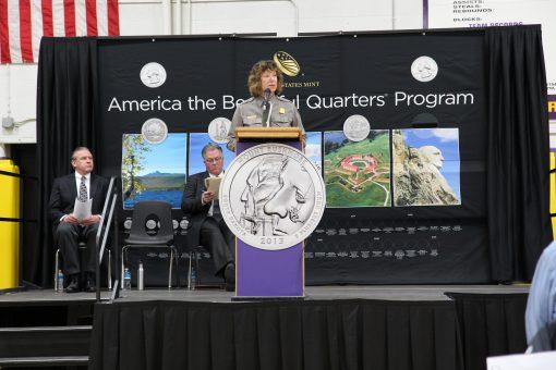 Mount Rushmore Superintendent Cheryl A. Schreier
