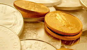 Gold Drops Most Since June, US Mint Coins Mixed in November