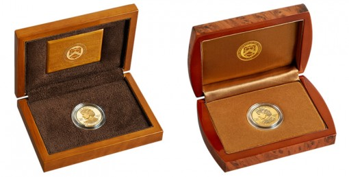 US Mint Lacquered Hardwood Presentation Cases