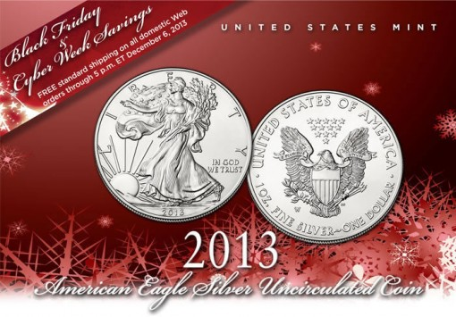 US Mint Promotion of its Black Friday and Cyber Week Savings