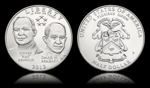 2013-D Uncirculated 5-Star Generals Half Dollar