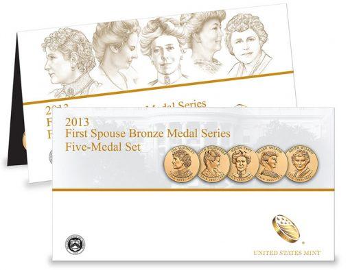 2013 First Spouse Bronze Medal Set