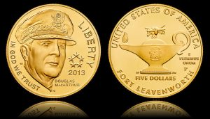 2013-P $5 Uncirculated 5-Star Generals Gold Coin