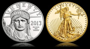 2013 Platinum Eagle and 2013 Gold Eagle